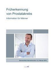 Früherkennung von Prostatakrebs. Eine ... - Urologenportal