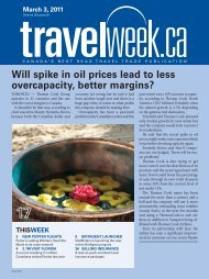 Will spike in oil prices lead to less overcapacity, better ... - Travelweek