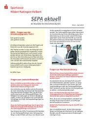 Download [PDF] - Sparkasse Hilden · Ratingen · Velbert