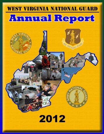 West Virginia National Guard Annual Report 2012