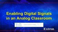 Enabling Digital Signals in an Analog Classroom - The SUNY ...
