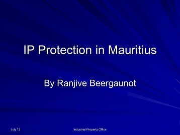 IP Protection in Mauritius