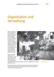 Organisation und Verwaltung - Studentenwerk Berlin