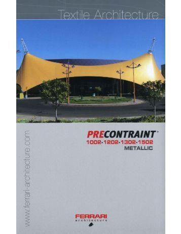 Serge Ferrari Precontraint M 1002, 1202, 1302  ... - Eide Industries, Inc.