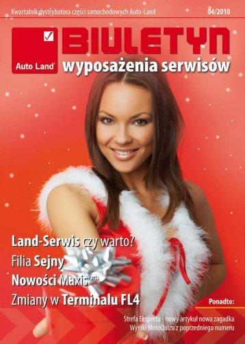 Biuletyn 04.2010 - Auto-Land.pl