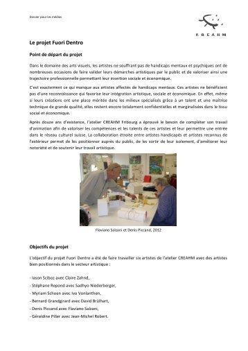 dossier de presse Expo Fuori Dentro nov. 2012 - Creahm