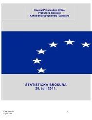 STATISTIČKA BROŠURA 28. jun 2011. - Eulex