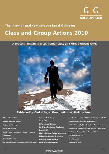 Class and Group Actions 2010 - Carroll, Burdick & McDonough
