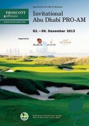 Invitational Abu Dhabi PRO-AM