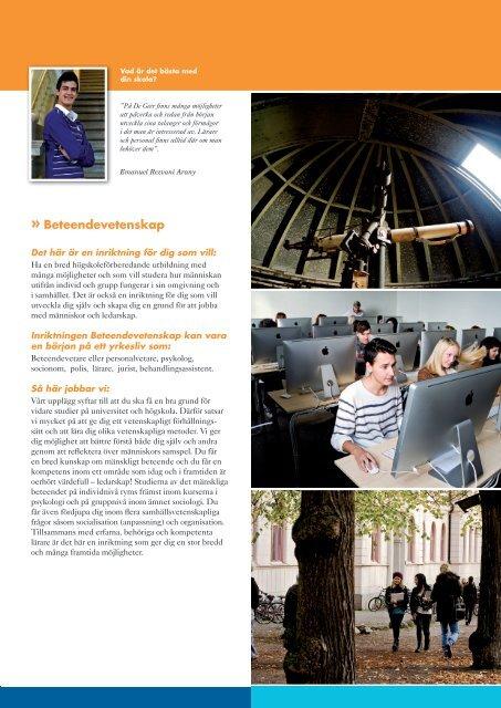 Läsåret 2013/2014 - De Geergymnasiet