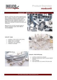 Product Overview modcon® - INELCO