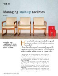 Managing Start-up Facilities – by Amy Lee - Hida