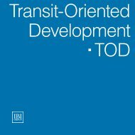 Transit-Oriented Developments - IBI Group