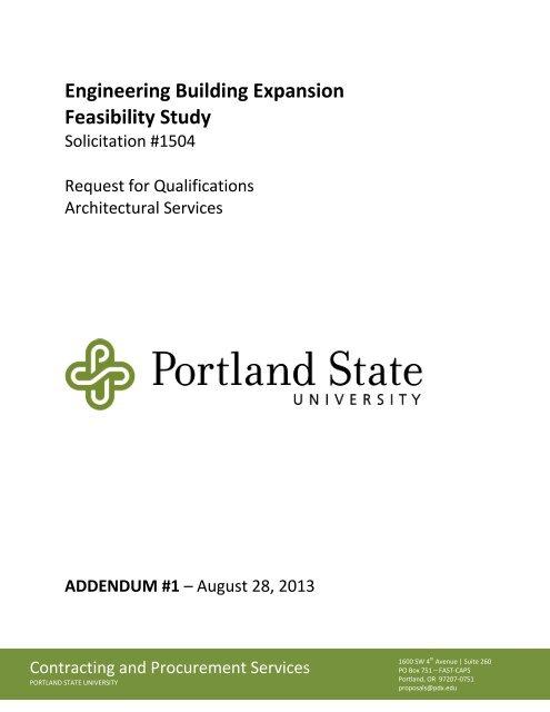 EB Expansion Feasibility Study RFQ Addendum 1 pdf