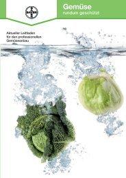 Gemüse - rundum geschützt - Bayer CropScience Deutschland GmbH