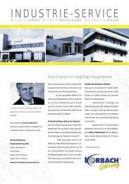 Industrie-Service - Wirtschaftsförderung Korbach Goldrichtig GmbH