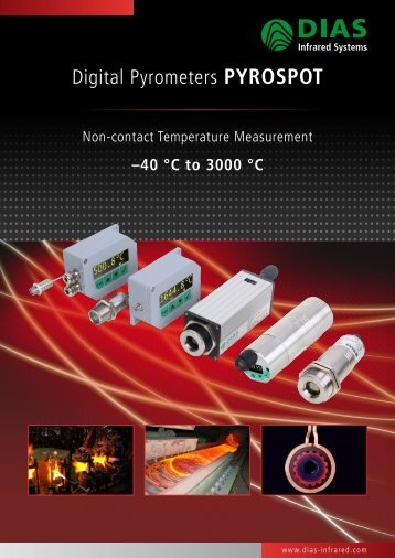 Digital Pyrometers PYROSPOT - DIAS Infrared Systems