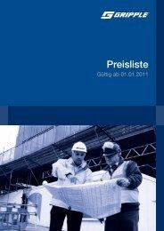 Gripple_Preisliste 2011.pdf - Felderer