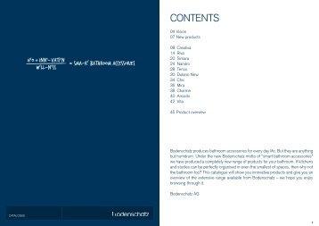 Catalogue 2012, English - Bodenschatz AG