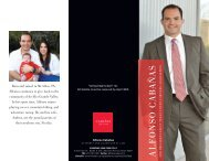 View Cabañas campaign brochure - State Bar of Texas