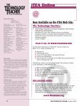 OCTOBER 2002 VOL. 62 NO. 2 - International Technology and ... - Page 4