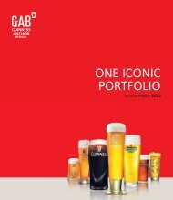 Full Version Guinness Anchor Berhad Annual Report 2012 - Gab