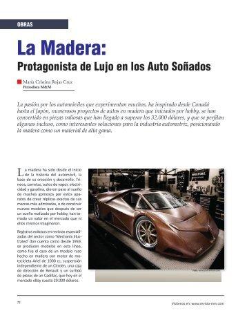 Obras La Madera: Protagonista de Lujo en los - Revista El Mueble y ...