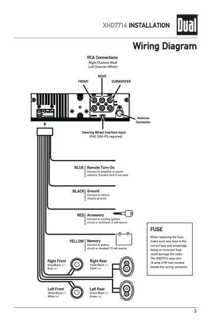 File  Dual Radio Wiring Diagram Model 7650