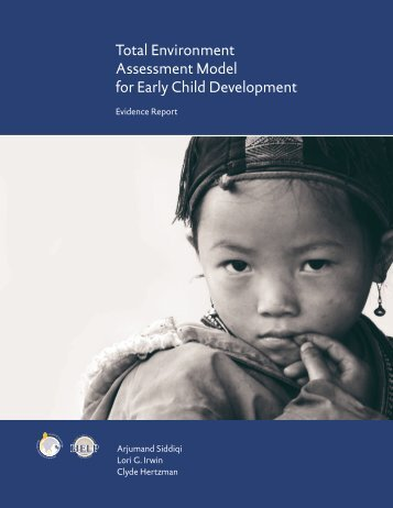Total Environment Assessment Model for Early Child Development