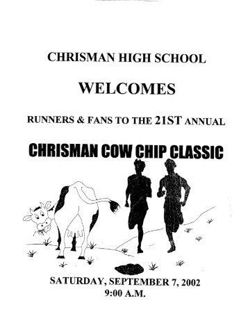 CHRISMAN COW CHIP CLASSIC