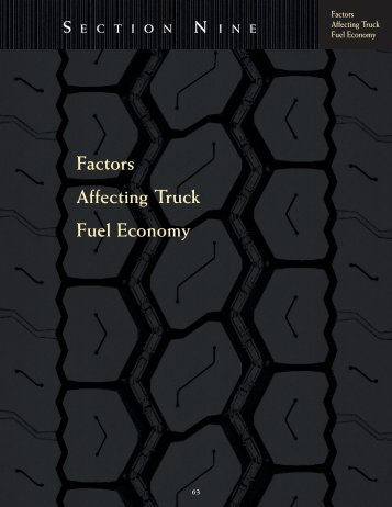 Factors Affecting Truck Fuel Economy S ECTION N ... - Goodyear Tires