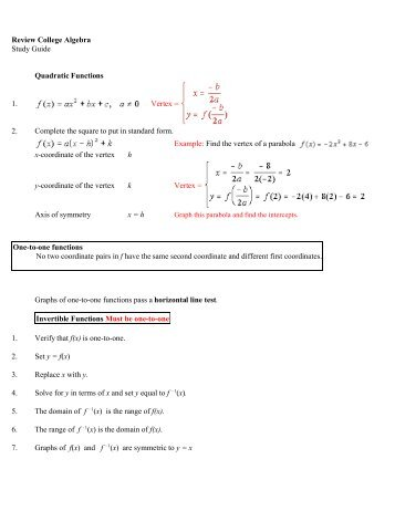 Math 161 Polynomial And Rational Functions Worksheet Find The