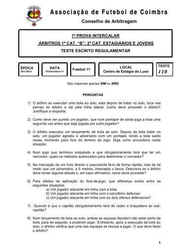 119 - Associação de Futebol de Coimbra