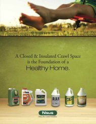 Closed Crawl Space Healthy Home Brochure