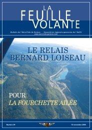 LE RELAIS BERNARD LOISEAU - Aeroclub de Genève