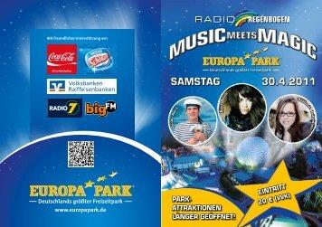 SAMSTAG 30.4.2011 - bigFM Radio