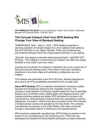 Download PDF - MTS Seating