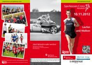 Flyer - Sparkassen Cross Pforzheim