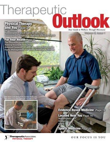 Spring 2012 - Therapeutic Associates