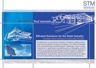 photovoltaic trackers - Dunkermotoren