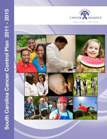 South Carolina Cancer Control Plan 2011 - 2015 - Department of ...