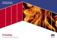 Firestop Panel Spec.indd - Isoclad