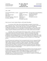 Supplemental Budget Request for Monitoring - Coastal Institute ...
