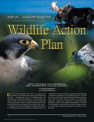 Wildlife Action Plan - New Hampshire Fish and Game Department