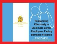 Handbook for Child Care Teachers and - Cambridge Public Health ...