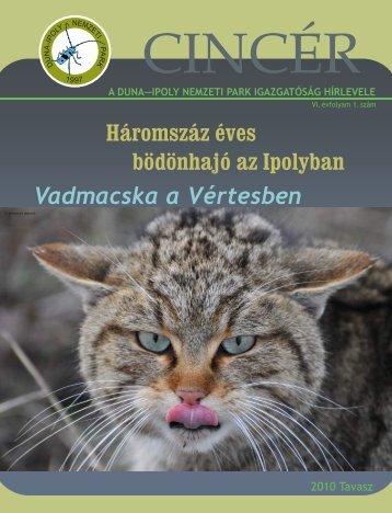 2010_tavasz03 (2).pdf - Duna-Ipoly Nemzeti Park