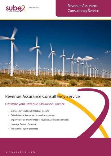 Revenue Assurance Consultancy Service - Subex