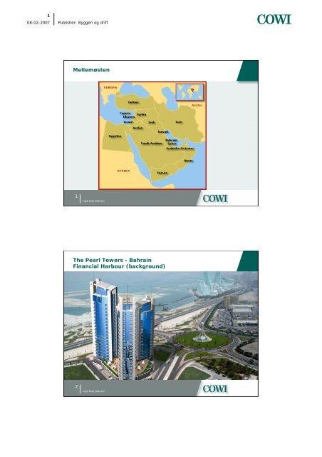 Bahrain Financial Harbour (background) - Dansk Betonforening