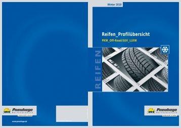 Winter 2010 Reifen_Profilübersicht REIFEN ...