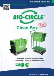 Gesamtflyer Clean Box - Bio-Circle